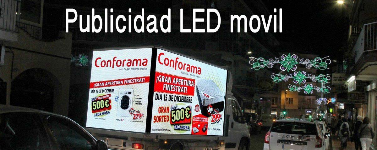 Camion pantalla led movil